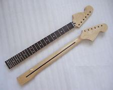 Left hand   Maple 24 Fret Guitar Neck Rose wood  Polishing For  ST Repair parts