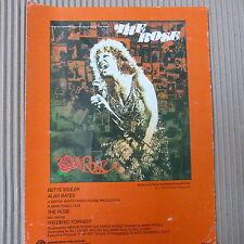 song sheet THE ROSE Bette Midler 1977