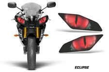 Street Bike Headlight Eye Graphics Kit Decal Cover For Yamaha R6 06-15 ECLIPSE R
