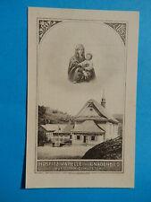 IMAGE PIEUSE  MIRACULEUSE NOTRE DAME DES NEIGES SUISSE RIGI KLÖSTERLI 1907