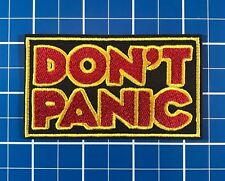 Hitchhiker's Guide to the Galaxy Don't Panic Movie TV Patch 3.5in