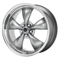 """16"""" Inch 5x114.3 4 Wheels Rims 16x7 +35mm Anthracite Machined AMERICAN RACING"""