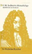 Monadology by Freiherr von Gottfried Wilhelm Leibniz (Hardback, 1991)