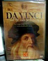 Da Vinci and the Code He Lived By (History Channel), New DVD, Leonardo Da Vinci