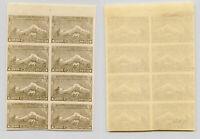 Armenia 1921 SC 294 mint block of 8. rtb5559