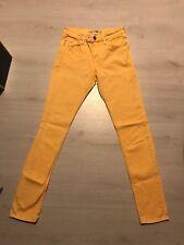 Topshop Moto Jamie Light Orange Skinny Jeans W26 L30