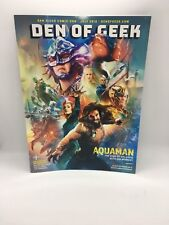 SDCC 18 Exclusive Den of Geek Aquaman Special Edition Cover Magazine