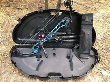 used PSE Centrix compound bow, right hand, blue, competition!