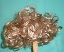 """Poupée Perruque/Cheveux 11"""" à 12"""" Blond, Boucles"""