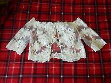 Stunning lace bolero/ shrug. Gorgeous bride accessory