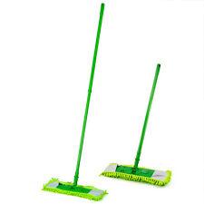 Extendable Mop Cleaner Sweeper Floor Microfibre Machine Washable Head Telescopic