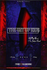 MINT THE GET UP KIDS FILLMORE CONCERT POSTER BGF524