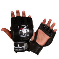 TurnerMAX MMA GRAPPLING GLOVES FIGHT SPARRING BOXING MARTIAL ARTS UFC MMA GEAR