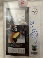 LE'VEON BELL 2013 PANINI CONTENDERS ROOKIE AUTO SP CARD #221