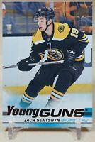 Zach Senyshyn Young Guns 2019-20 Upper Deck Rookie RC Boston Bruins