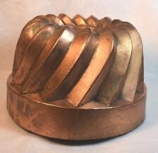 19th Century American Copper Jelly Mold