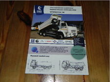 KAMAZ 65111 T2532 6x6 Tipper Truck LKW Camion brochure prospekt catalogue