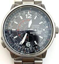 Citizen Eco-Drive Nighthawk BJ7000-52E Pilot's Men's Watch