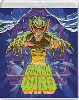 DEMON WIND Blu-ray+DVD 2017 Vinegar Syndrome Limited Lenticular Slipcover OOP
