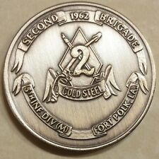 2nd Brigade 5th ID Mechanized Cold Steel Army Challenge Coin