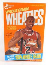1992 General Mills MICHAEL JORDAN 18 oz. Empty Cereal Box Wheaties Box in Bag
