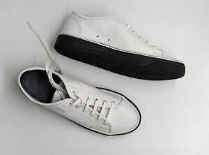 Brand New Genuine Lanvin White Leather Trainers Size UK7 / EU41 RRP £455