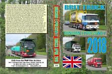 3799. Runcon. UK. Trucks. April 2018. A new position to the south of the M56 jun