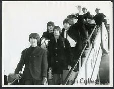 Beatles Press Photograph #82-Flying Into London Airport-1965-ESTX