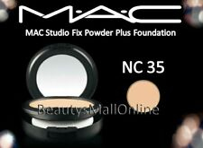 MAC STUDIO FIX POWDER PLUS FOUNDATION 15gr / 0.52 Oz - NC 35 NEW IN BOX