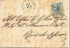 SAN PIERO IN BAGNO 2057- 20 c su lettera 10.9.1867