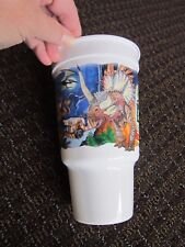 Disney Animal Kingdom Plastic Cup 1998 Dino Land Opening Dinosaurs Collectible