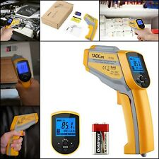 Tacklife Non-contact Digital Laser Infrared IR Thermometer Temperature LCD Gun