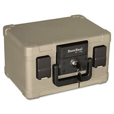 Fireking Fire and Waterproof Chest 0.15 ft3 12-1/5w x 9-4/5d x 7-3/10h Taupe