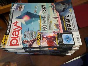 Play 4 Playstation Magazin,Videospiele Zeitschriften