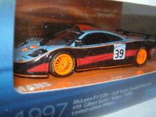 1/43 MINICHAMPS MCLAREN F1 GTR `GULF` 1997 LEMANS #39. 999 PIECE LITD ED