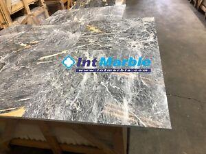 Marble Tile, Grey Saint Laurent Polished Marble Tiles, 305x610x12mm Stone Tile