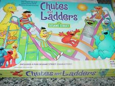 Chutes And Ladders Sesame Street Game Complete 2004 Milton Bradley Pre-owned