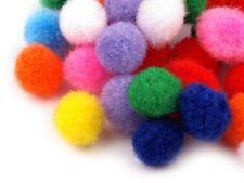 Pompons Ø10-13 mm Bommeln Tupfen frei Farbwahl & Mix