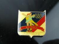 Olympic Pin Vintage 1992 Albertville, France Ice Dance USA Team