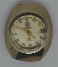 Vintage RADO Balboa Ceramic Watch. Cal: R2798-1. For Repairs