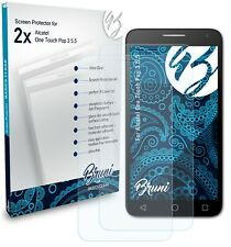 Bruni 2x Protective Film for Alcatel One Touch Pop 3 5.5 Screen Protector