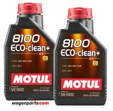 Aceite Motor Motul 8100 Eco-Clean+ 5W30 Acea C1 Mazda FAP Fuel Eco, 2 Ltr