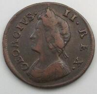 GREAT BRITAIN   FARTHING 1736  #gw 419