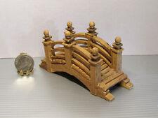 Dollhouse Miniature or Fairy Garden Resin Arched Bridge