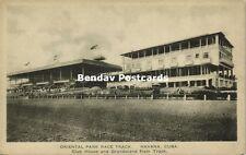 cuba, HAVANA HABANA, Oriental Park Race Track, Club House and Grandstand (1920s)
