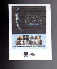 Game of Thrones season 7 complete 81 card base  set + PROMO P1 +WRAPPER