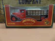 ERTL Collectibles Anheuser Busch Budweiser 1930 Delivery Truck Bank Sealed
