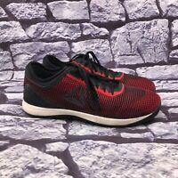 Reebok CrossFit Men's Red Black Lace Up Athletic Sneaker Size 13