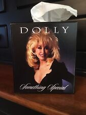 DOLLY PARTON TISSUE BOX COVER