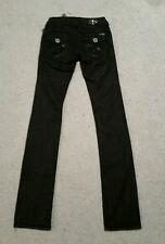 LAGUNA BEACH JEAN CO. BLACK WASH STRAIGHT LEG JEANS sz 24